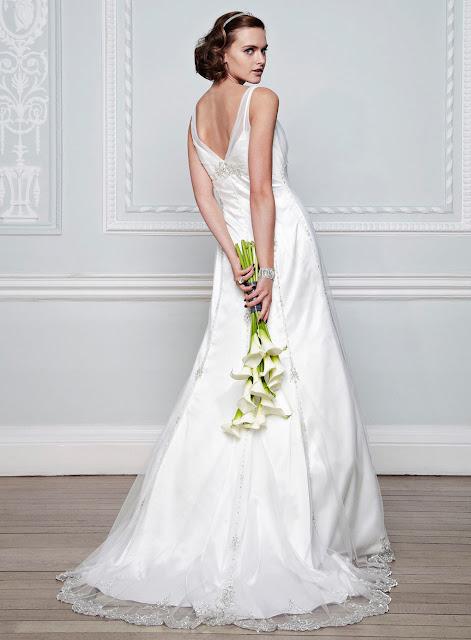 bhs vintage wedding dress