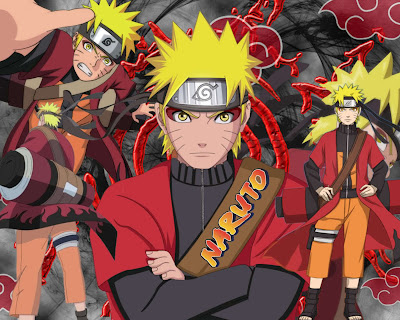 gambar naruto senjutsu mode wallpaper