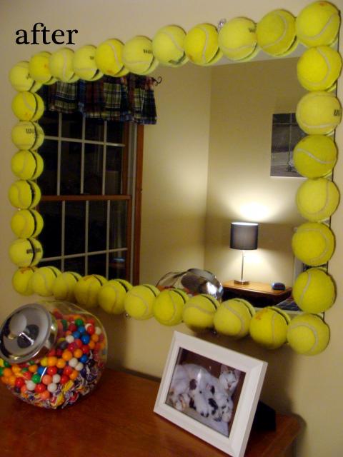The Pleasures Of My Life Tennis Mirror