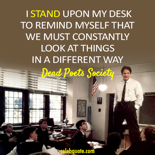 essays about the dead poets society