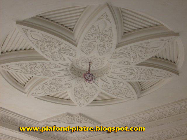 Boutique salon marocain 2018 2019 plafond platre for Decoration du plafond