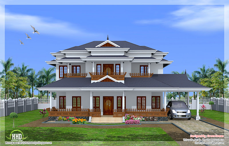3550 Square Feet (329 Square Meter) (394 Square Yards) Kerala model 5  title=