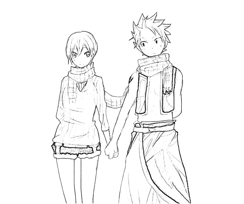 printable lisanasan lisanna cute_coloring pages 4 - Coloring Pages Anime Couples Chibi