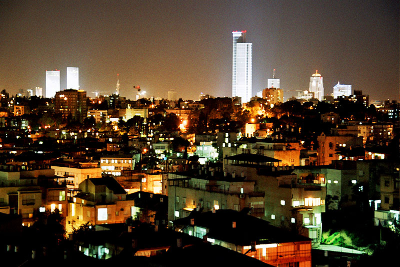 Tel Aviv Israel  city images : Tel Aviv At Night