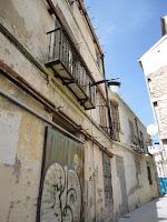 edificio histórico en ruina, calle Tomás de Cózar 12
