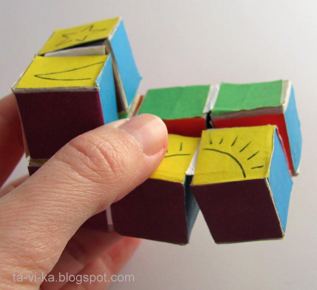 Головоломка из бумаги своими руками-монгольская Головоломки из бумаги как делать