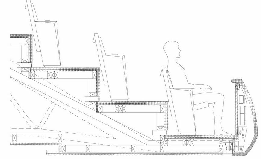 مخططات مشروع دار أوبرا أوسلو بالنرويج  Stage-details