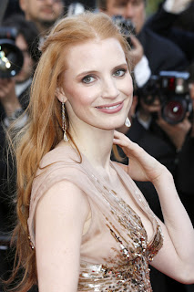 Jessica Chastain learned to run like Tom Cruise from 'Debt' costar Sam Worthington
