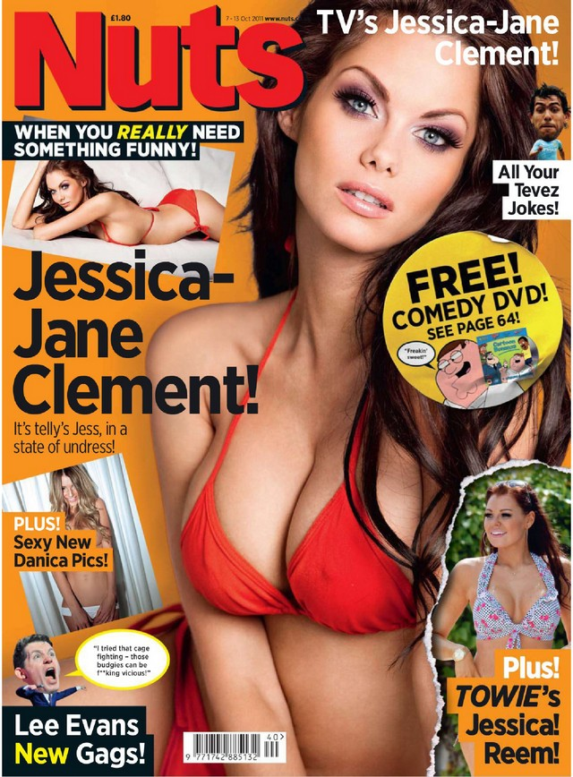 Jessica Jane Clement Nuts Magazine October 2011