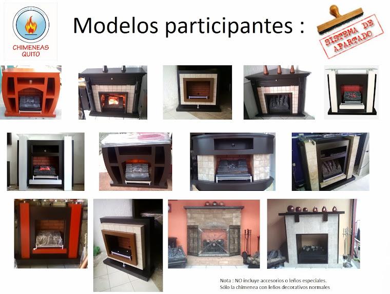 Modelos participantes