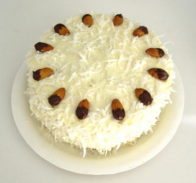 Almond Joy Cake Vegan Lindsay Ann Bakes