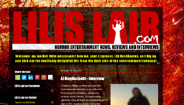My Horror Industry Blog