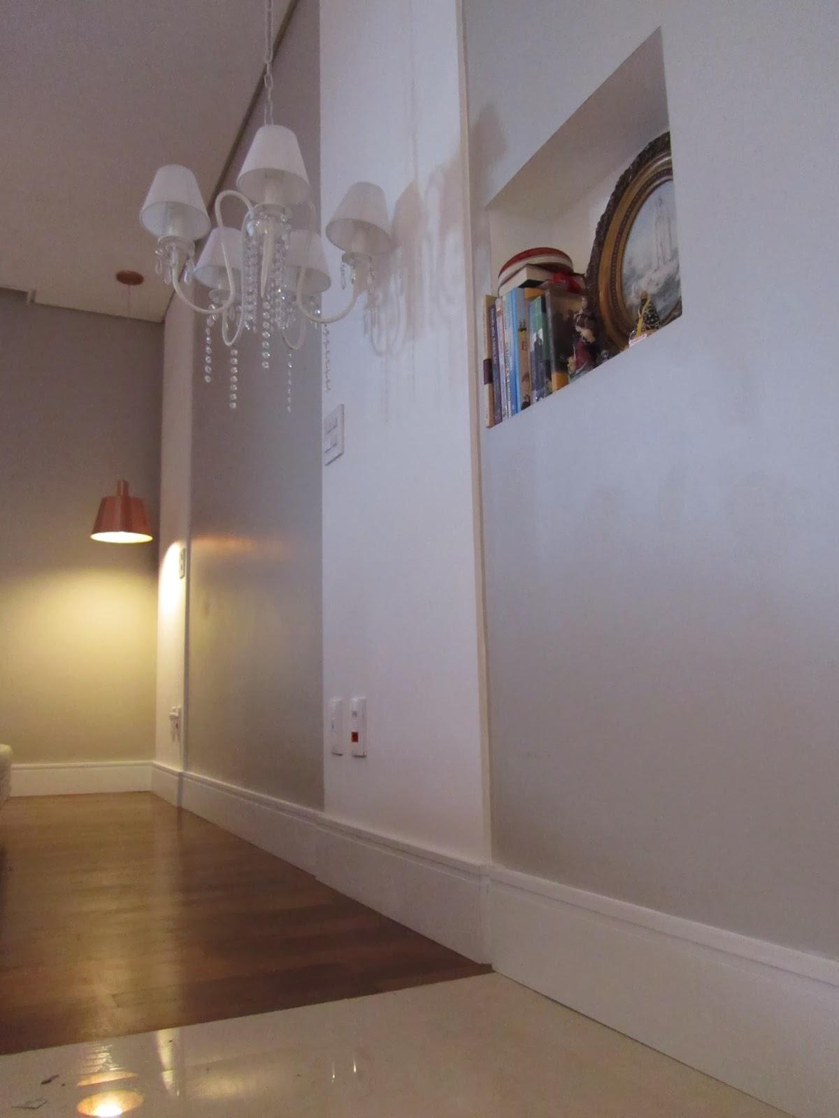 Acabamento de Interiores com rodapés santa luzia