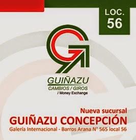 Guinazu Cambios - nueva sucursal Concepción