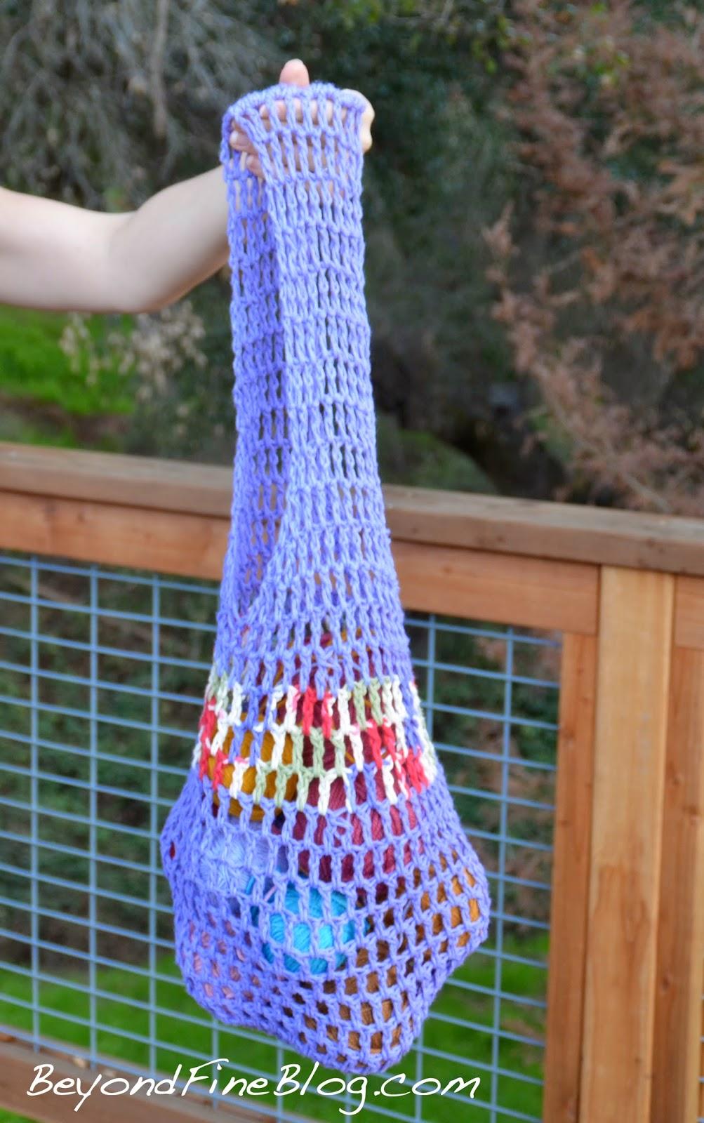 Beyond Fine Crochet Market Bags