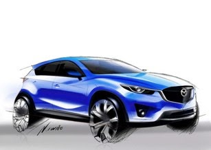 <b>Mazda CX</b>-<b>5</b>: Интерьер салона