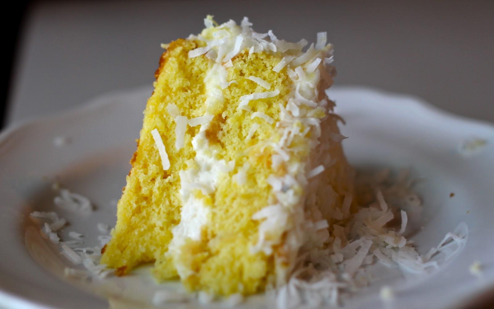 Pina Colada Cake Yammie's noshery: piña colada cake