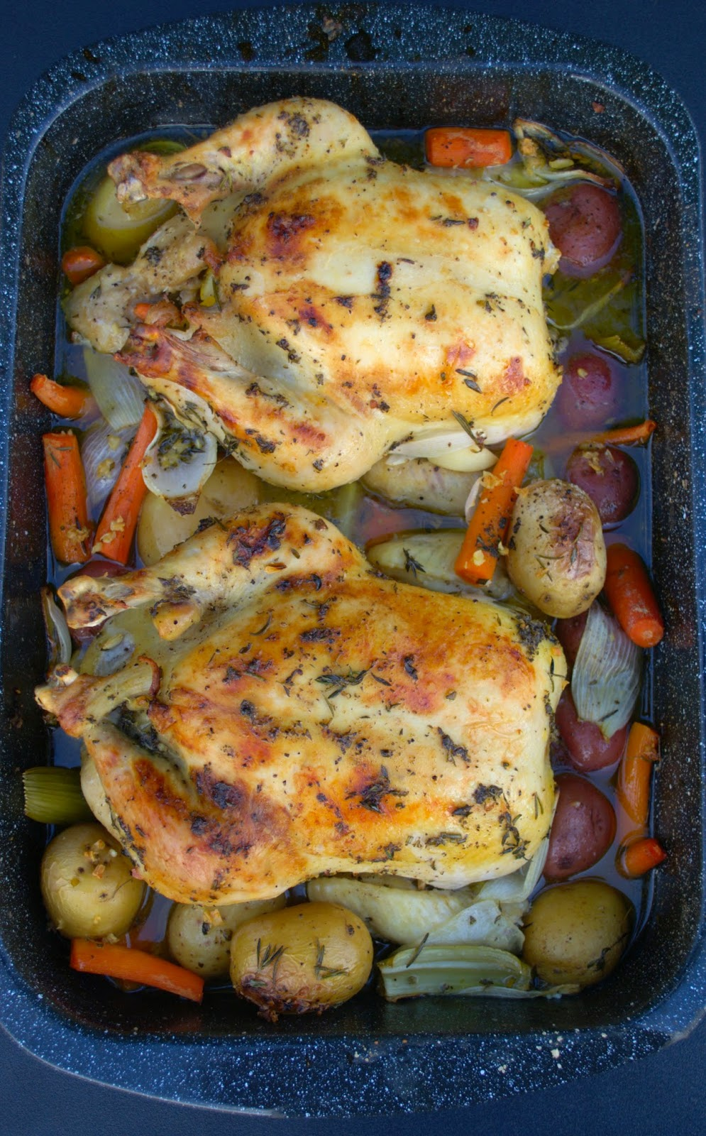 Rosemary and Lemon Roasted Chicken
