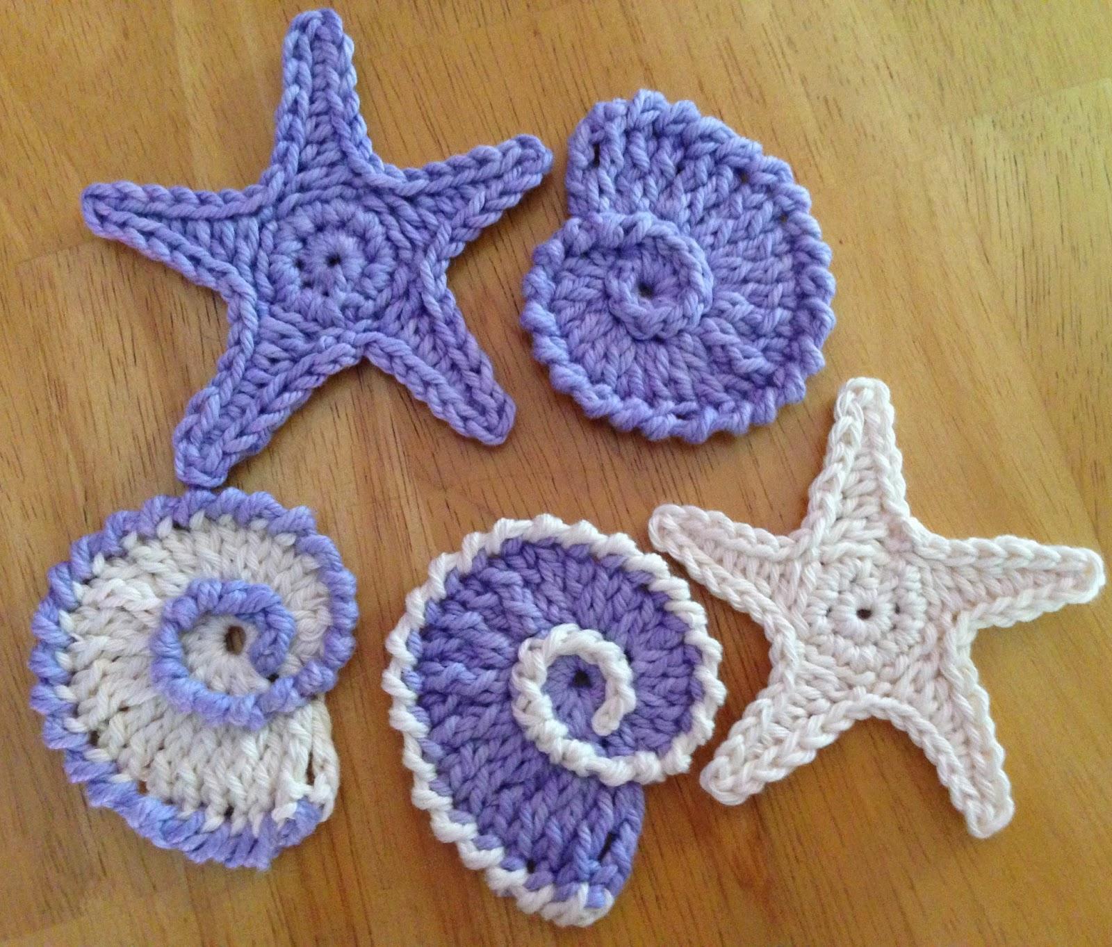 Das Crochet Connection Sea Shell Motifsgarland 1