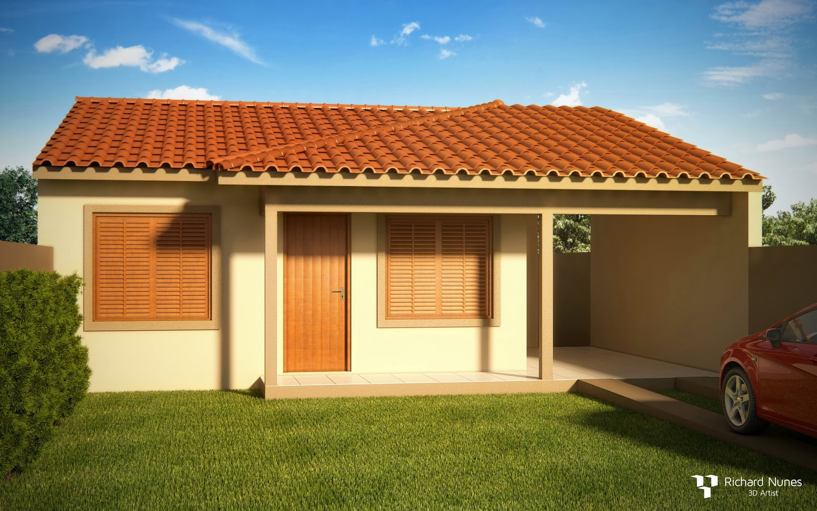Richard nunes projeto minha casa minha vida for Casa popular