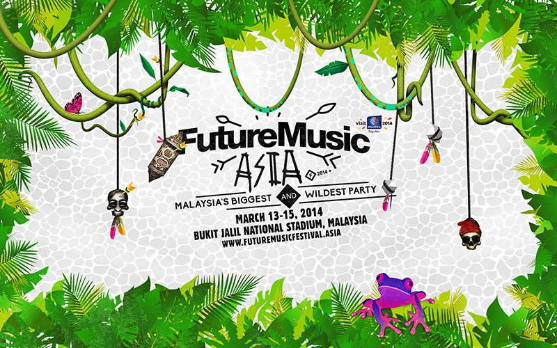 Future Music Festival Asia 2014 March 13-15, 2014 Bukit Jalil national Stadium