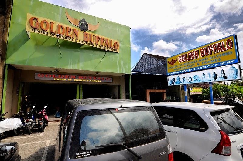 Indonesia Bronze Bali - Golden Buffalo