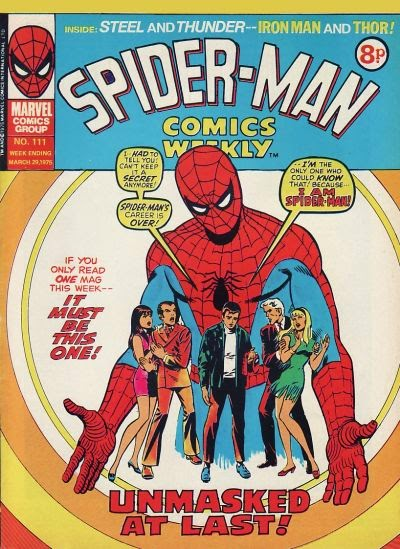 Spider-Man Comics Weekly #111