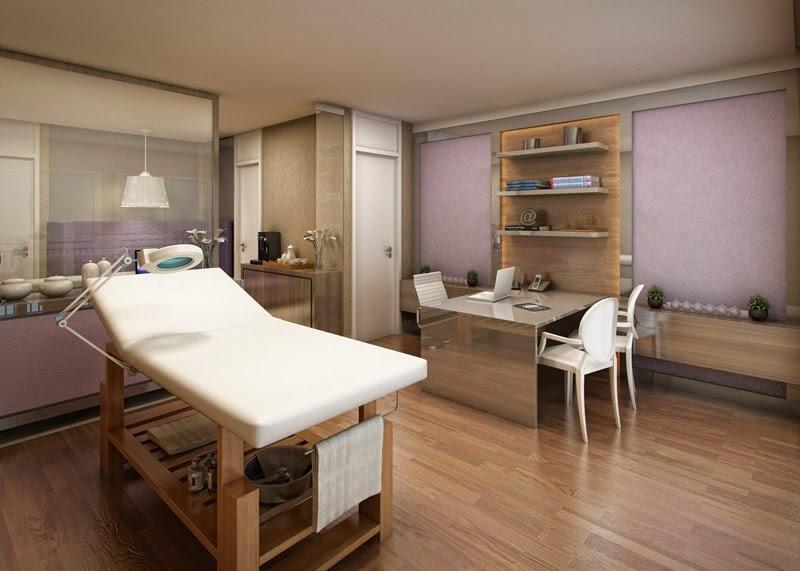 Cabine De Estetica Simples : Decorao de clinica de estetica decorao rstica ambientes lindos