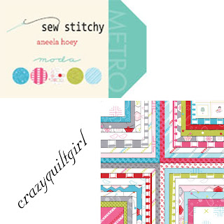 Moda SEW STITCHY Quilt Fabric by Aneela Hoey
