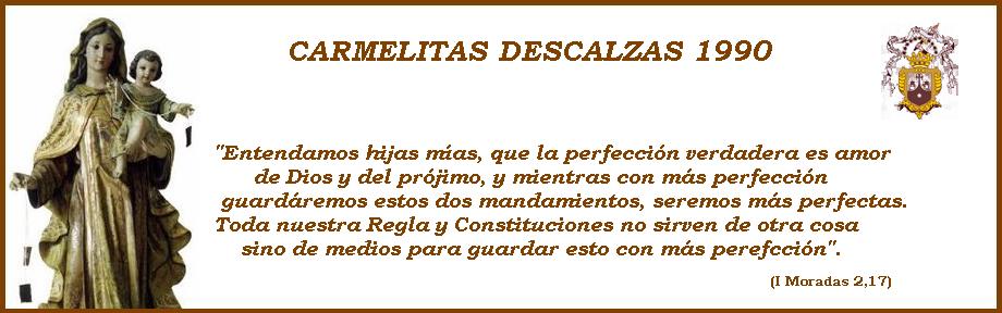 Carmelitas Descalzas - Constituciones de 1990