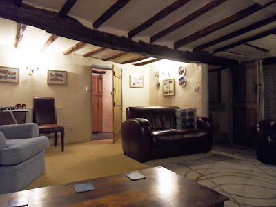 Inside 15th century cottage in Devon