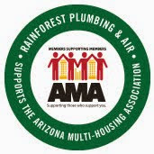 Rainforest Plumbing & Air Supports the Arizona Multi-housing Association (AMA)