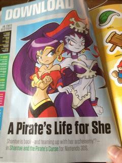 shantae and the pirates curse nintendo power 1 Shantae and the Pirates Curse Coming To The 3DS eShop