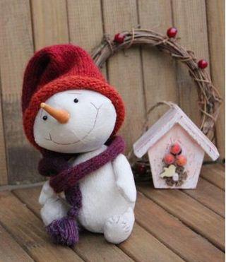 c mo hacer un mu eco de nieve paso a paso cositasconmesh On como hacer munecos de navidad paso a paso