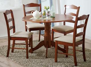 Pin comedores modernos cuatro puestos economicos madera for Comedores modernos pequea os 4 puestos