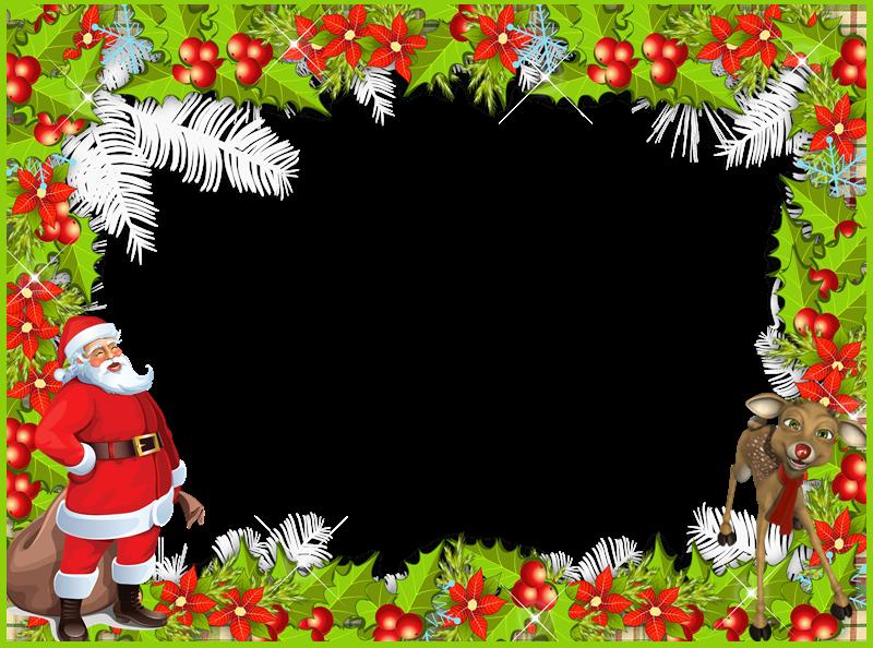 Colecci n de gifs marcos para fotos de navidad - Marcos navidad fotos ...