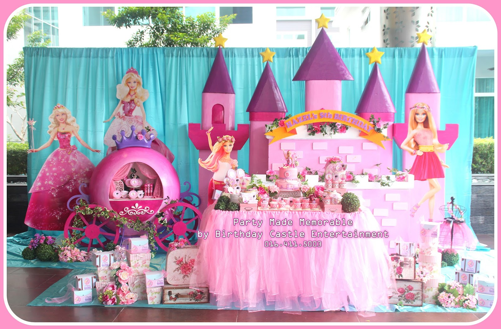 birthday castle entertainment ©: services