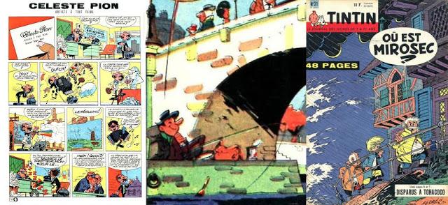 Séries éphémères de Tintin - Compilations de Mouthuy Philippe et autres