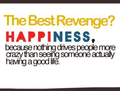 worth getting revenge with your