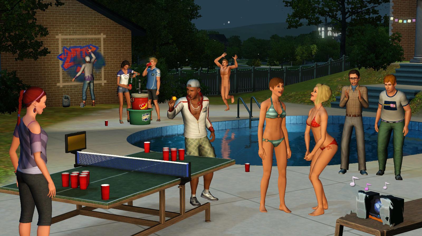 The Sims 3 University Life FLT