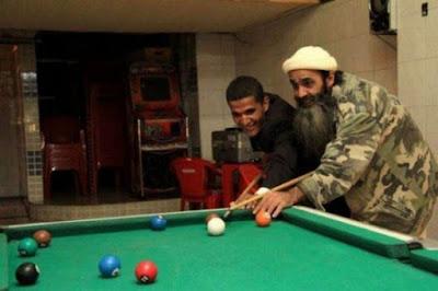 شبيه بن لادن يلتقي شبيه أوباما-منتهى