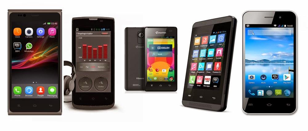 Ini 5 Smartphone Kitkat 4.4 dengan Harga Super Murah!