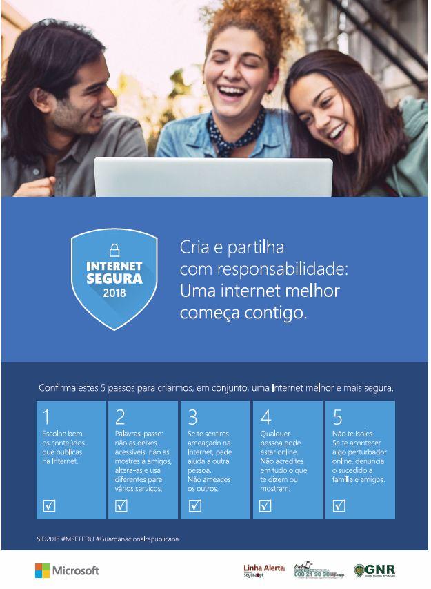 A tua segurança na internet