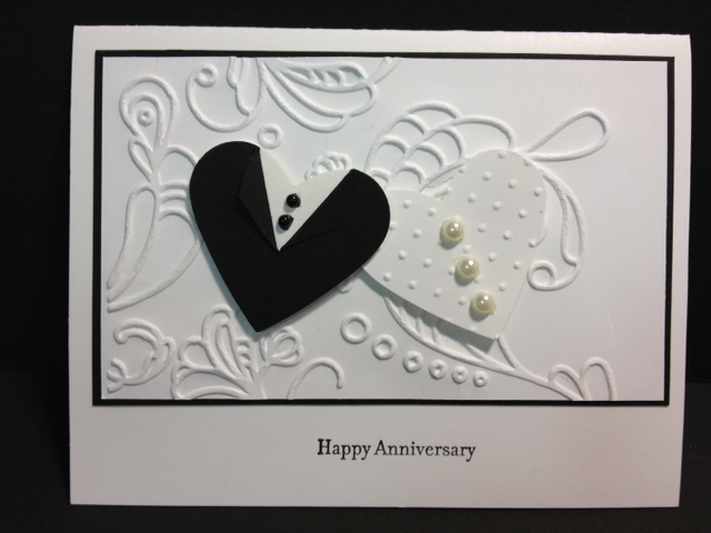 Anniversary cards son and daughter in law ~ My creative corner happy anniversary