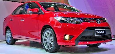 Toyota Vios 1.5G 2014,mạnh mẽ thể thao màu đỏ