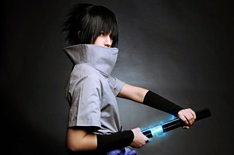 last uchiha Sasuke Cosplay
