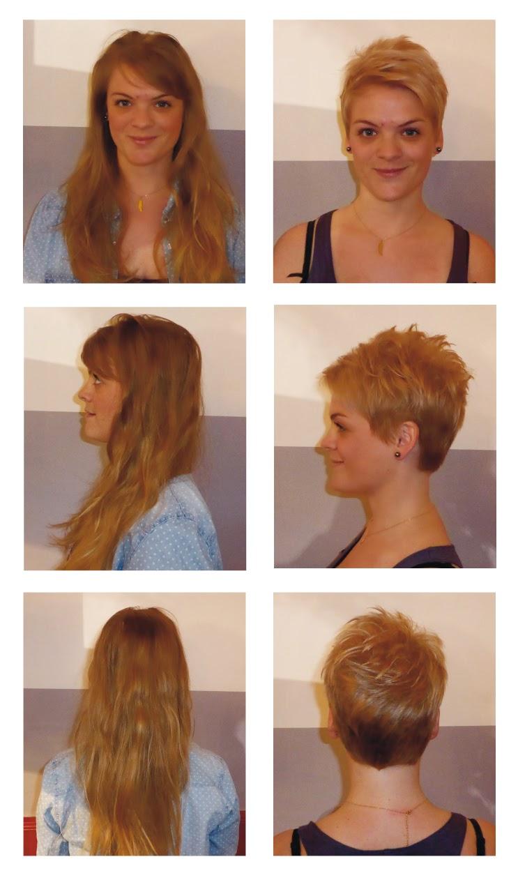 Maëva avant et après sa visite au Studio 54, coupe, couleur et patine réalisée par Eddy, coiffeur visagiste et coloriste à Montpellier.