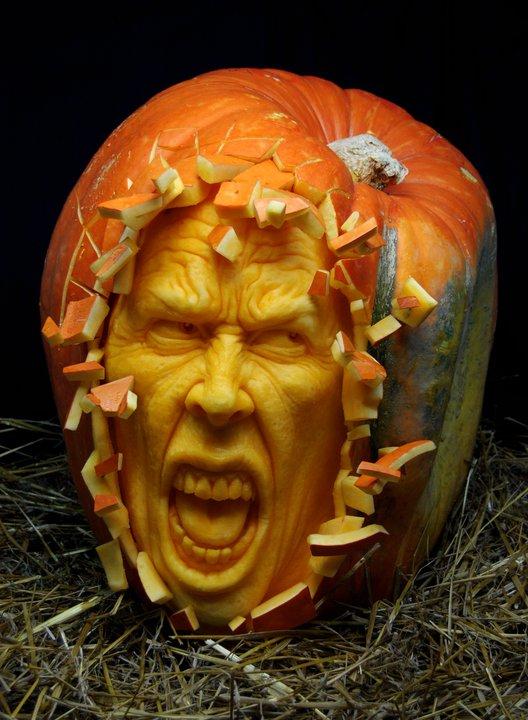 Vermont pumpkin chuckin festival november
