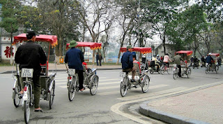Cyclo - a special transport in Vietnam