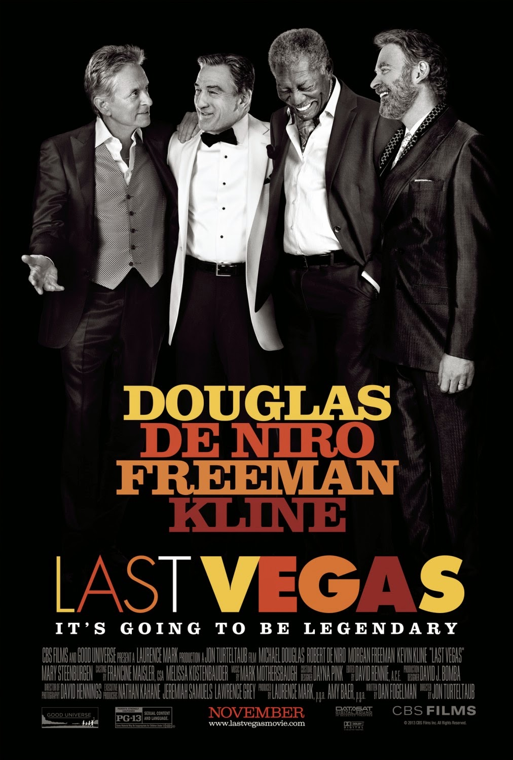 Maturity and predictability party in 'Last Vegas'